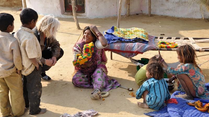 India lokale bevolking Mango Travel