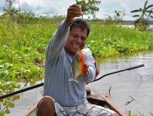 Peru Iquitos Piranha's Mango Travel