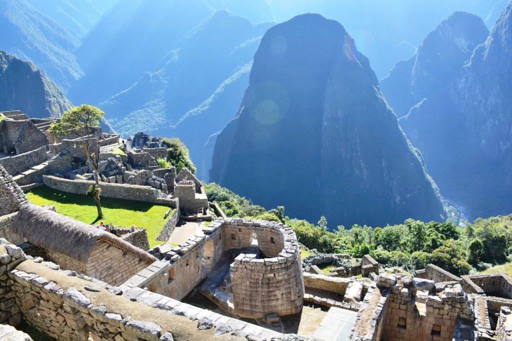 Machu Picchu bij zonsopgang