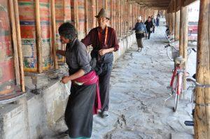Gebedsmolens Labrang klooster in Xiahe Mango Travel