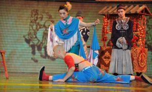 China Chengdu Sichuan Opera Mango Travel