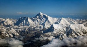 Mount Everest Panorama vlucht