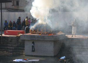 Nepal Pashupatinath crematie