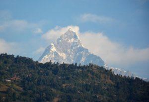 Nepal Pokhara Annapurna bergen