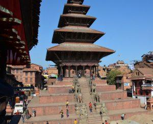 Nepal Bhaktapur Nyatapola Tempel