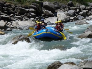 Rafting Trisuli rivier